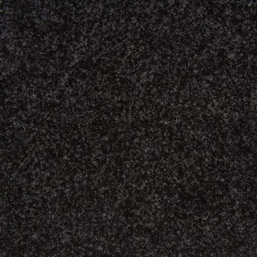 Полукоммерческий ковролин на резине 11.03.077.400 черный